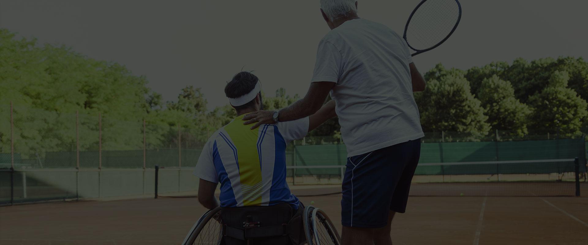 Apprendre a jouer au tennis handisport